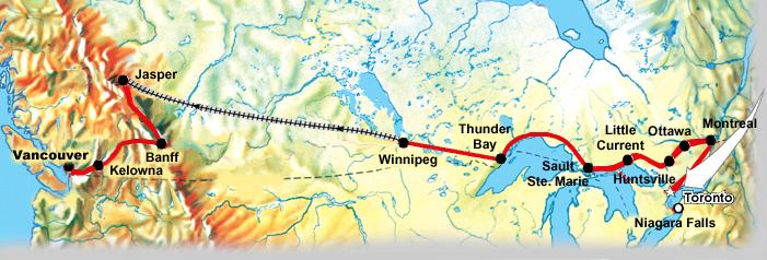 Busreise Canadian Discovery Imr Reisen Ihr Spezialist Fuer Kanada Und Usa